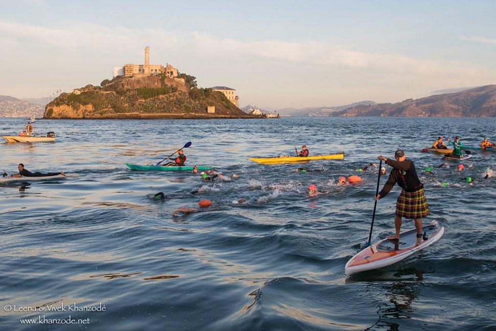 2016 November Alcatraz Crossing – San Francisco, CA, USA