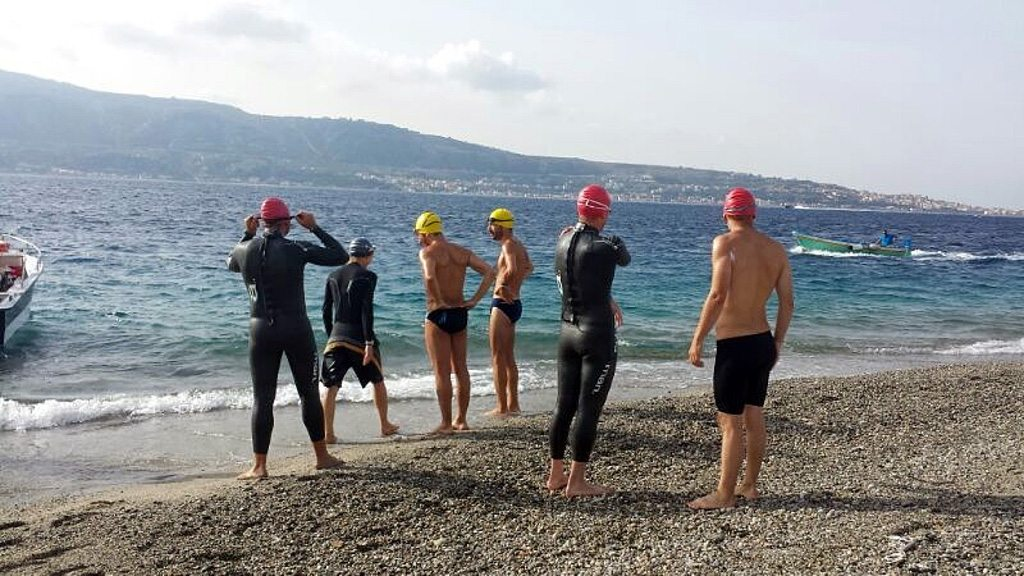 Italy: Strait of Messina – Water World Swim