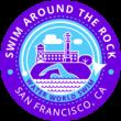 Swim Around the Rock Logo